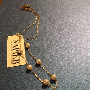 Gold and Pearl Neckless